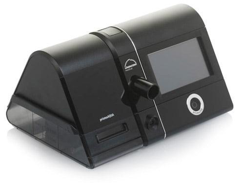 Сипап-аппарат Prisma 20A с подключенным увлажнителем Prisma Aqua