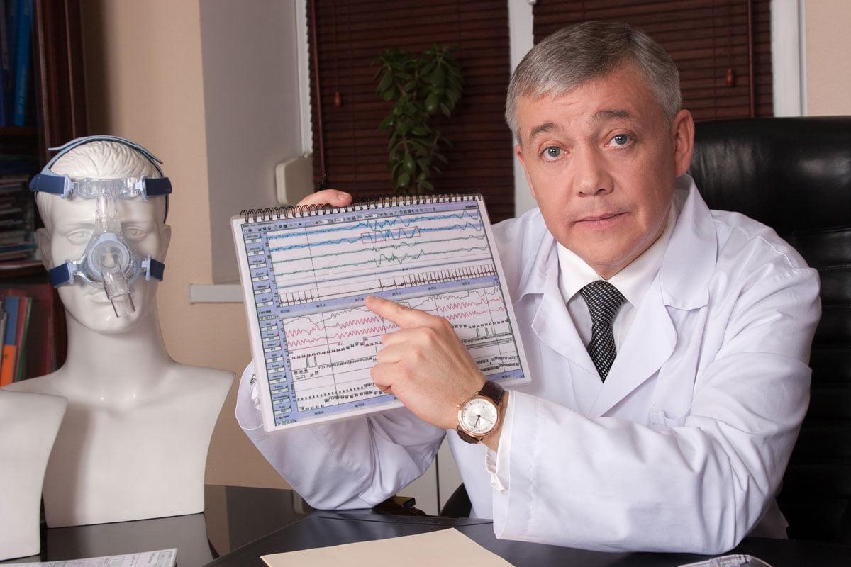 Врач-сомнолог Юрий Несторович Погорецкий, остановка дыхания во сне, нарушение дыхания, консультация сомнолога