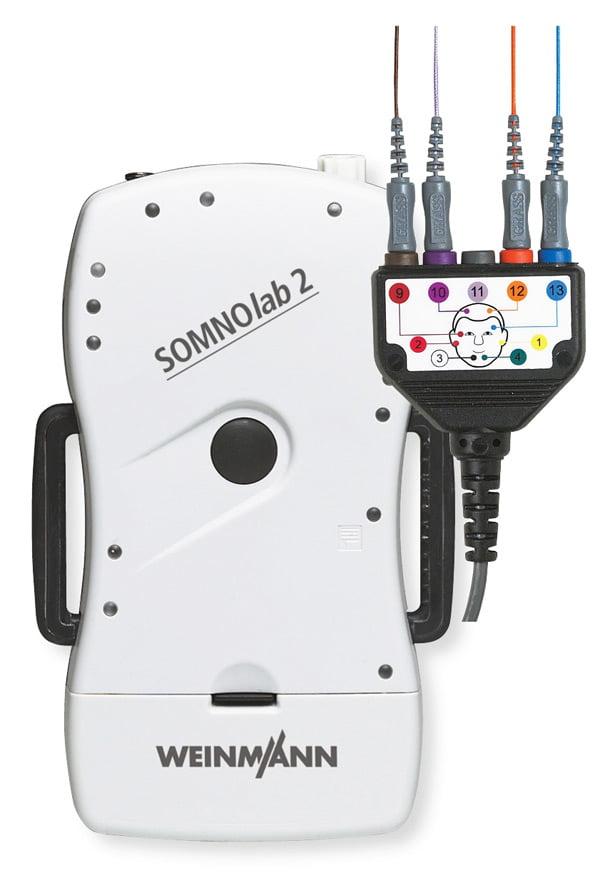 SOMNOlab 2 - мобильная система для диагностики во время сна
