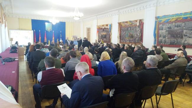 Погорецький Юрій Несторович - реабілітація військових, київський будинок офіцерів, круглий стіл