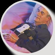 Лаборатория сна «УкрТелеМед» предоставляет возможности пройти диагностику и разобраться в причинах нарушения сна на дому.