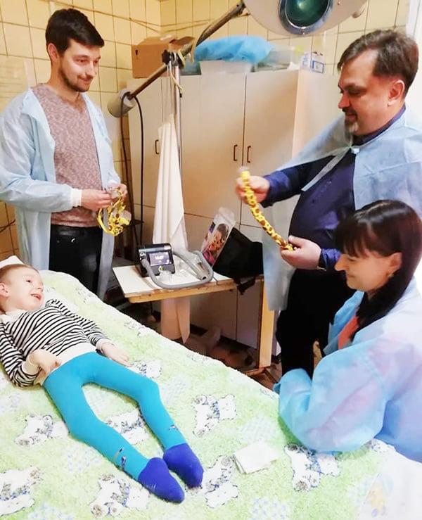 Подбор детской маски для аппарата неинвазивной вентиляции легких, Валерий Артеменко