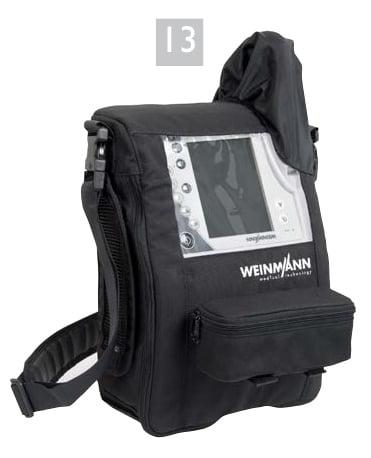 Водостойкая сумка для переноски WM 27976 для мобильного применения аппаратов VENTIlogic LS и VENTIlogic plus