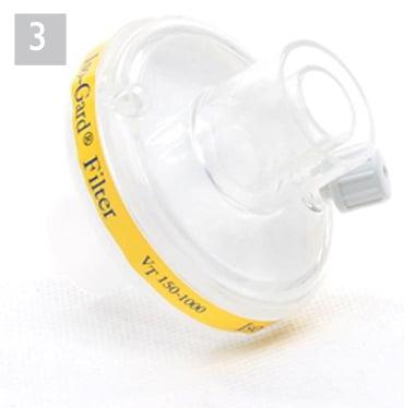 Бактериальный фильтр (для контура с клапаном) Teleflex Iso-Gard WM 27591