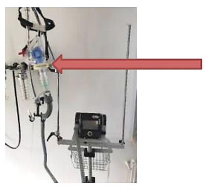 Контур с утечкой (Leakage Hose System) с дополнительной подачей О2