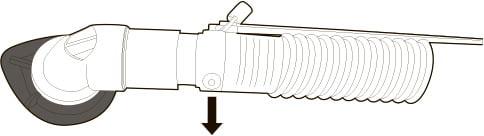 Угловой адаптер NV +AAV ( Anti-Asphyxia-Valve (клапан защиты от асфиксии) )