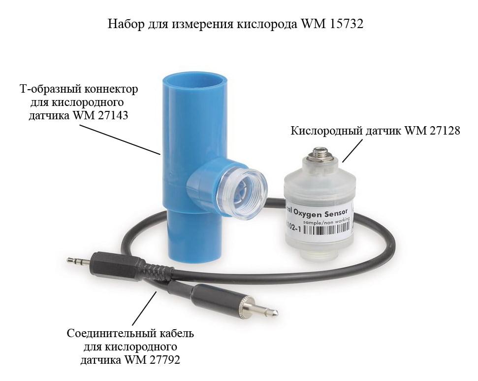 Набор для измерения кислорода WM 15732