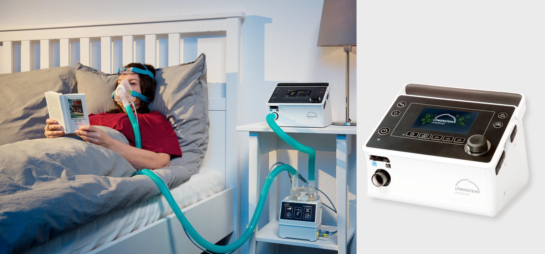 Аппарат искусственной вентиляции легких prisma VENT50-C с увлажнителем PrismaAQUA