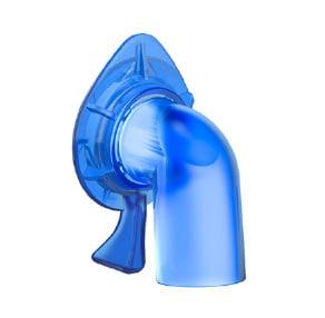 Угловой адаптер без клапана защиты от асфиксии