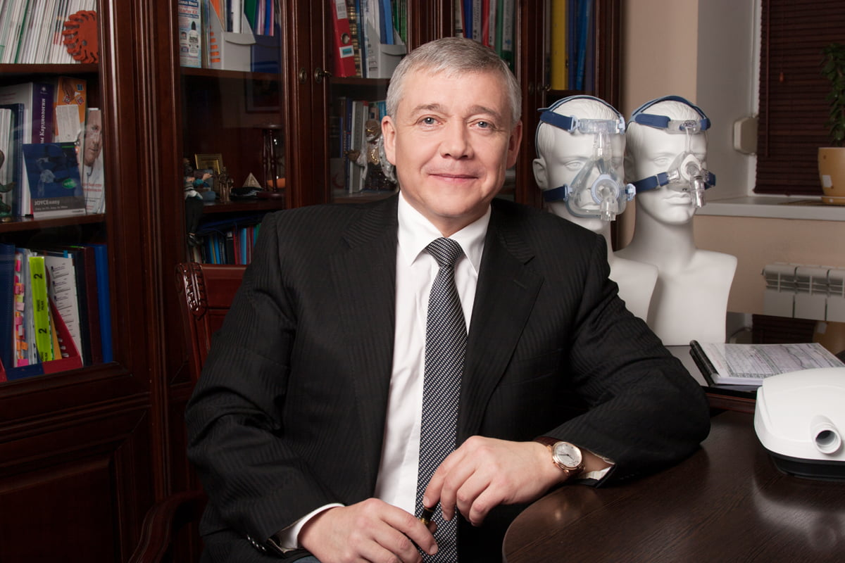 Врач сомнолог нашей лаборатории сна - Юрий Несторович Погорецкий