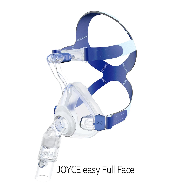 Маска для сипап и неинвазивной вентиляции легких JOYCE easy Full Face на все лицо полнолицевая