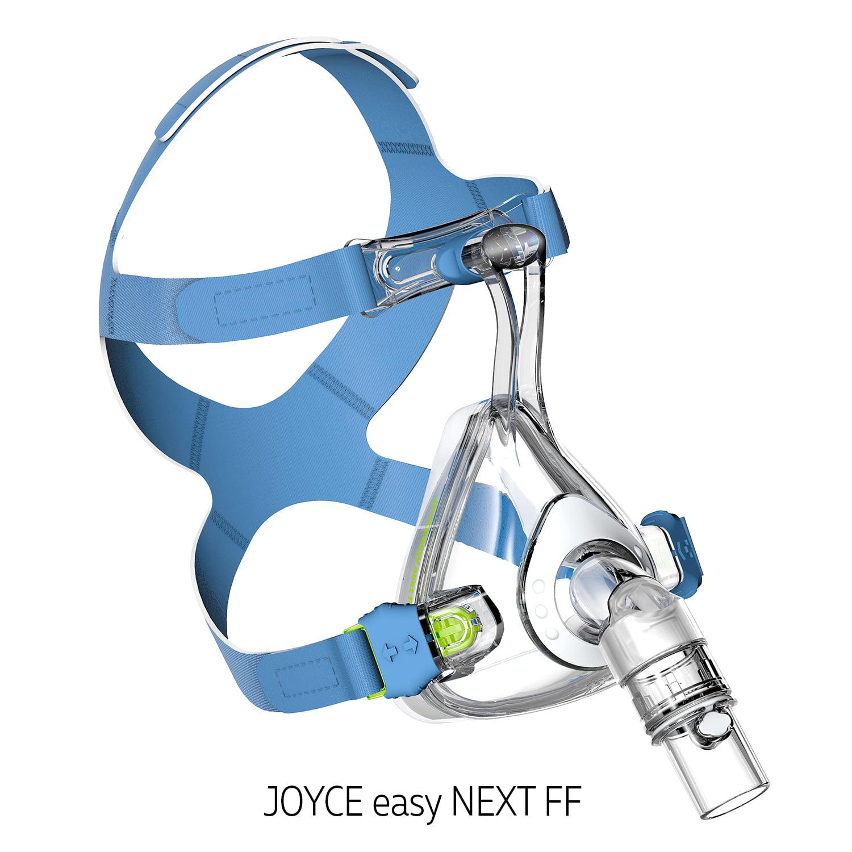 Маска для сипап и неинвазивной вентиляции легких JOYCE easy Next FF full face на все лицо полнолицевая