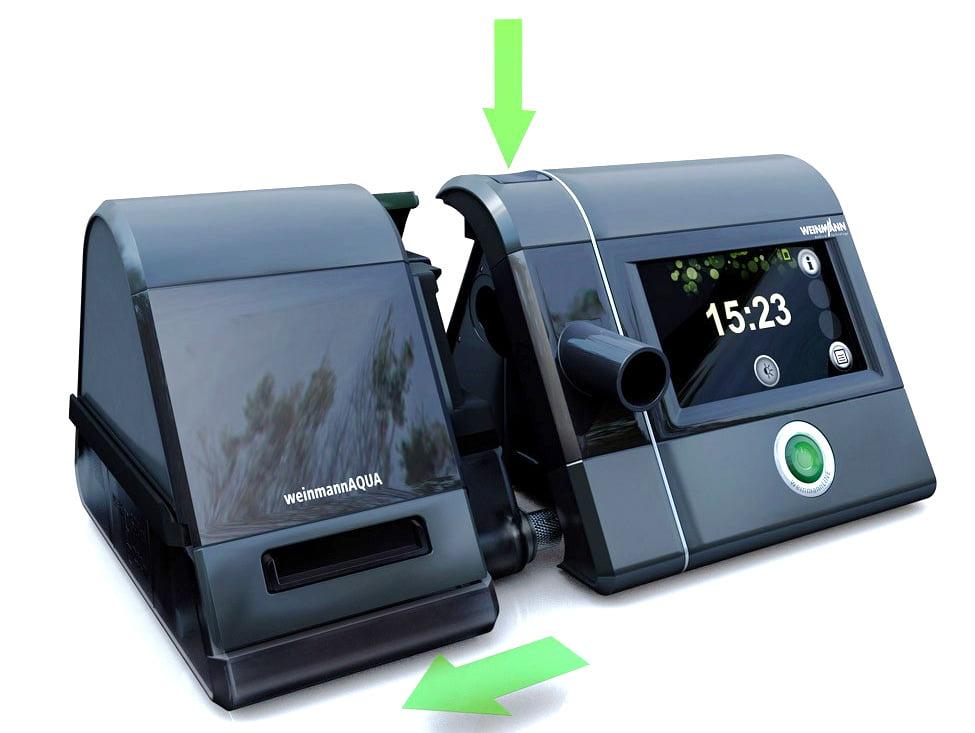 Сипап аппарат Prisma 25ST - как отключить увлажнитель prisma AQUA