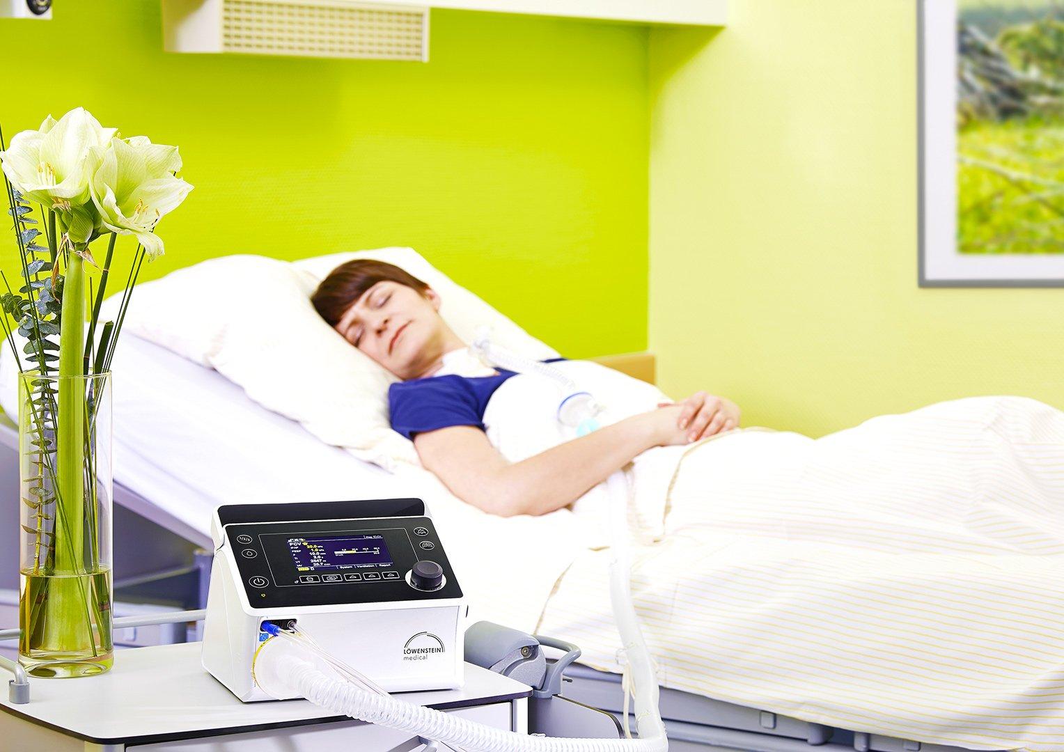Аппарат инвазивной и неинвазивной вентиляции легких ИВЛ и НИВЛ Prisma VENT50