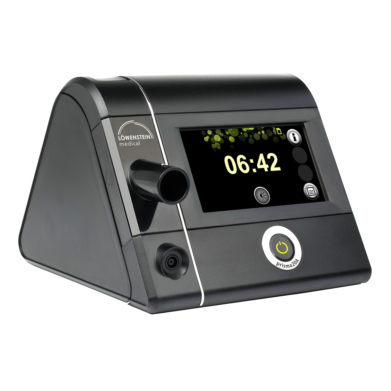 Сипап-аппарат Prisma 20A: передняя панель с touch-экраном