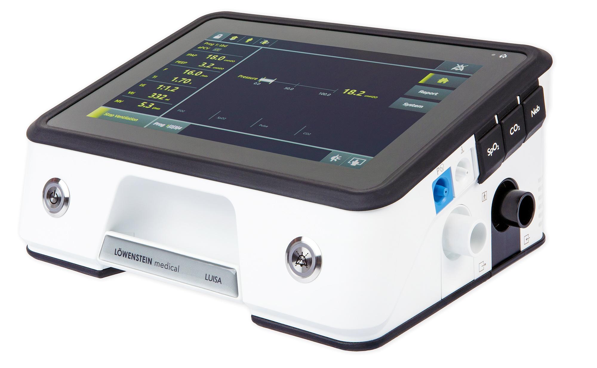 LUISA - Аппарат ИВЛ для жизнеобеспечивающей искусственной вентиляции легких