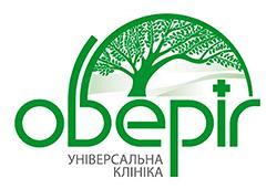 Логотип універсальна клініка Оберіг, logo, logotype